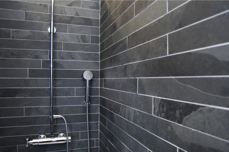 black slate floor tiles. Slate Wall Cladding / Interior BLACK SLATE RIVESTIMENTO MAP Srl Black Floor Tiles A