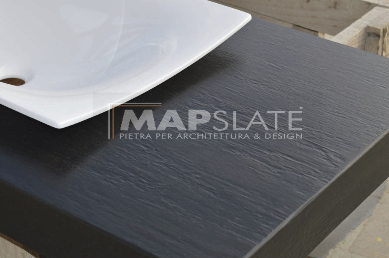Slate work surface / indoor - MAP SLATE DESIGN - MAP Slate Srl