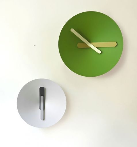 ... Contemporary Clock / Analog / Wall Mounted / Aluminum MOZIA By Giovanni  Levanti DIAMANTINI U0026