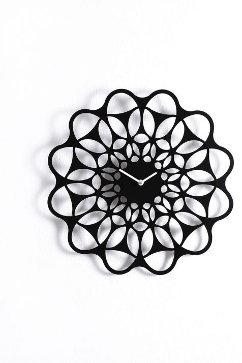 contemporary clock / analog / wall-mounted / metal - & by juan ... - Diamantini E Domeniconi Orologi Fabrica