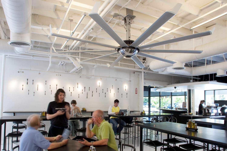 wall-mounted fan / industrial / metal - element - big ass fans