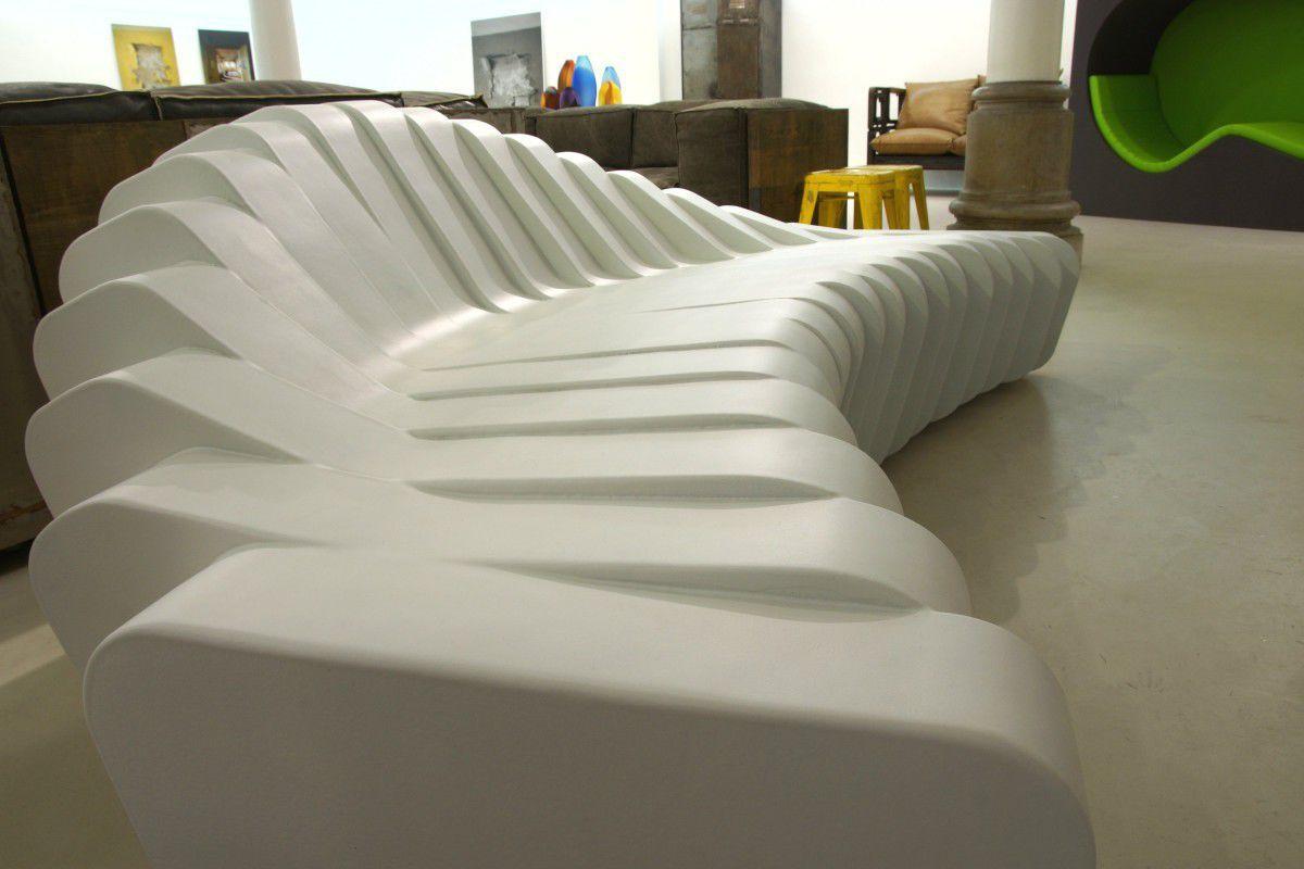 Design 2000 Furniture Garden Bench  Original Design  Foam  Cliffy 2000Rainer .