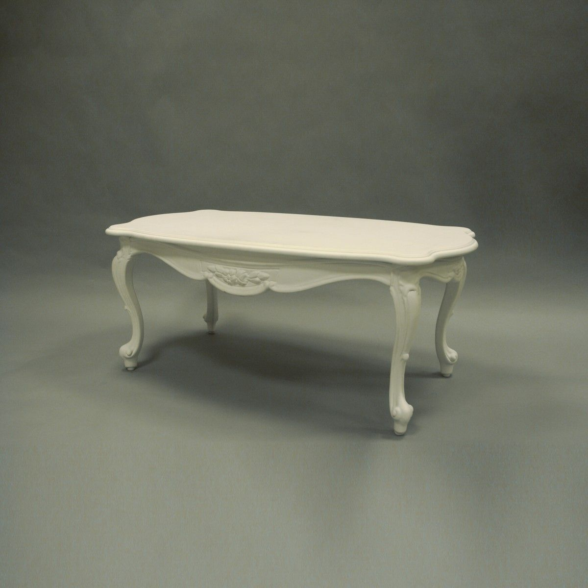 New Baroque design coffee table / wooden / rectangular - LOUIS by ...