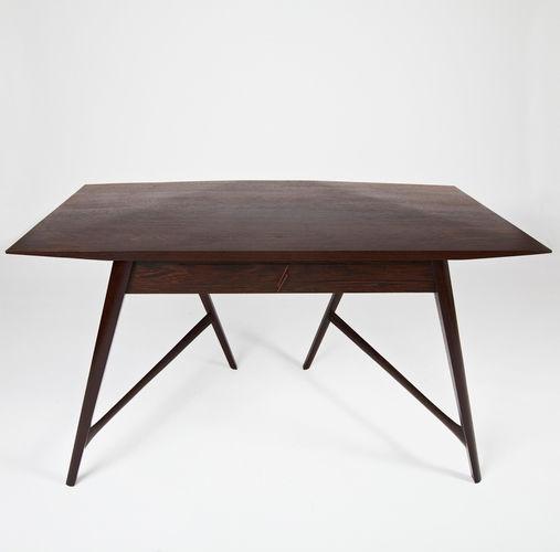 solid wood desk wenge design stealthier