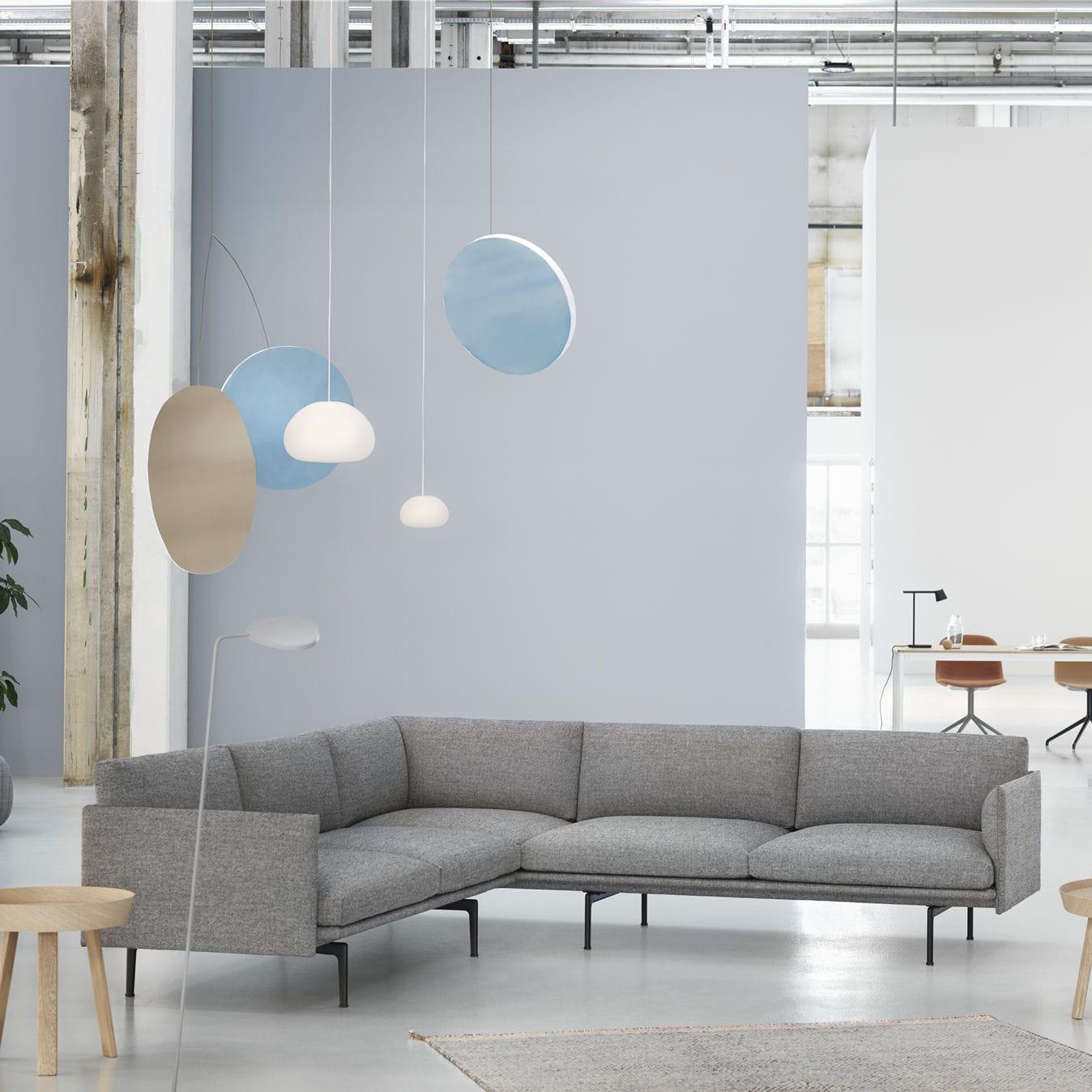 Corner sofa / Scandinavian design / fabric - OUTLINE by Anderssen ...