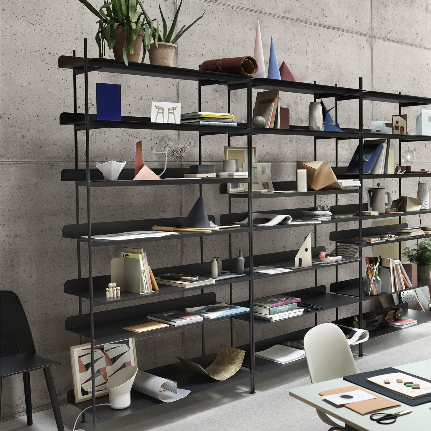 self supporting shelving system contemporary sheet steel rh archiexpo com self supporting wall shelves self supporting garage shelves