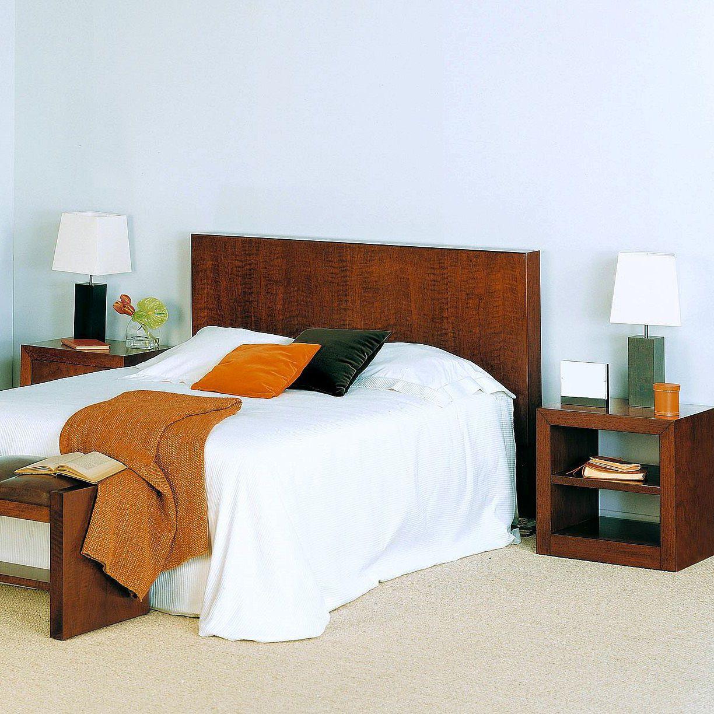 Double bed headboard / contemporary / walnut - T-683 - ArtesMoble