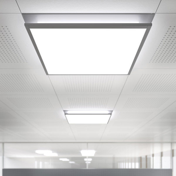 Herbert Waldmann Gmbh & Co Kg surface-mounted light fixture / led / square / metal - idoo.fit