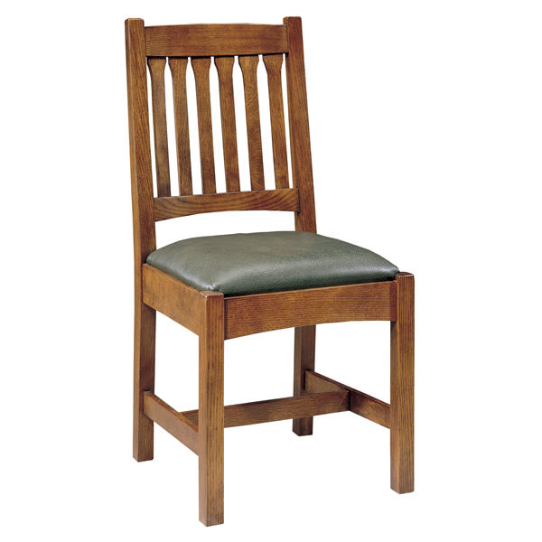 Magnificent Traditional Chair Upholstered Oak Cherrywood Mission Home Interior And Landscaping Oversignezvosmurscom