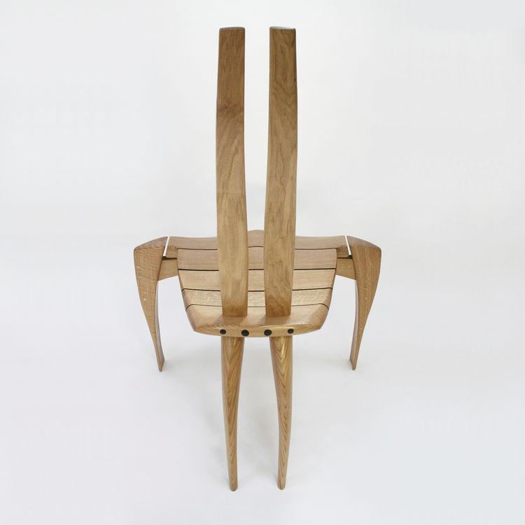 Extrem Original design chair / wooden - HAMMERHEAD - Chaircreative FG36