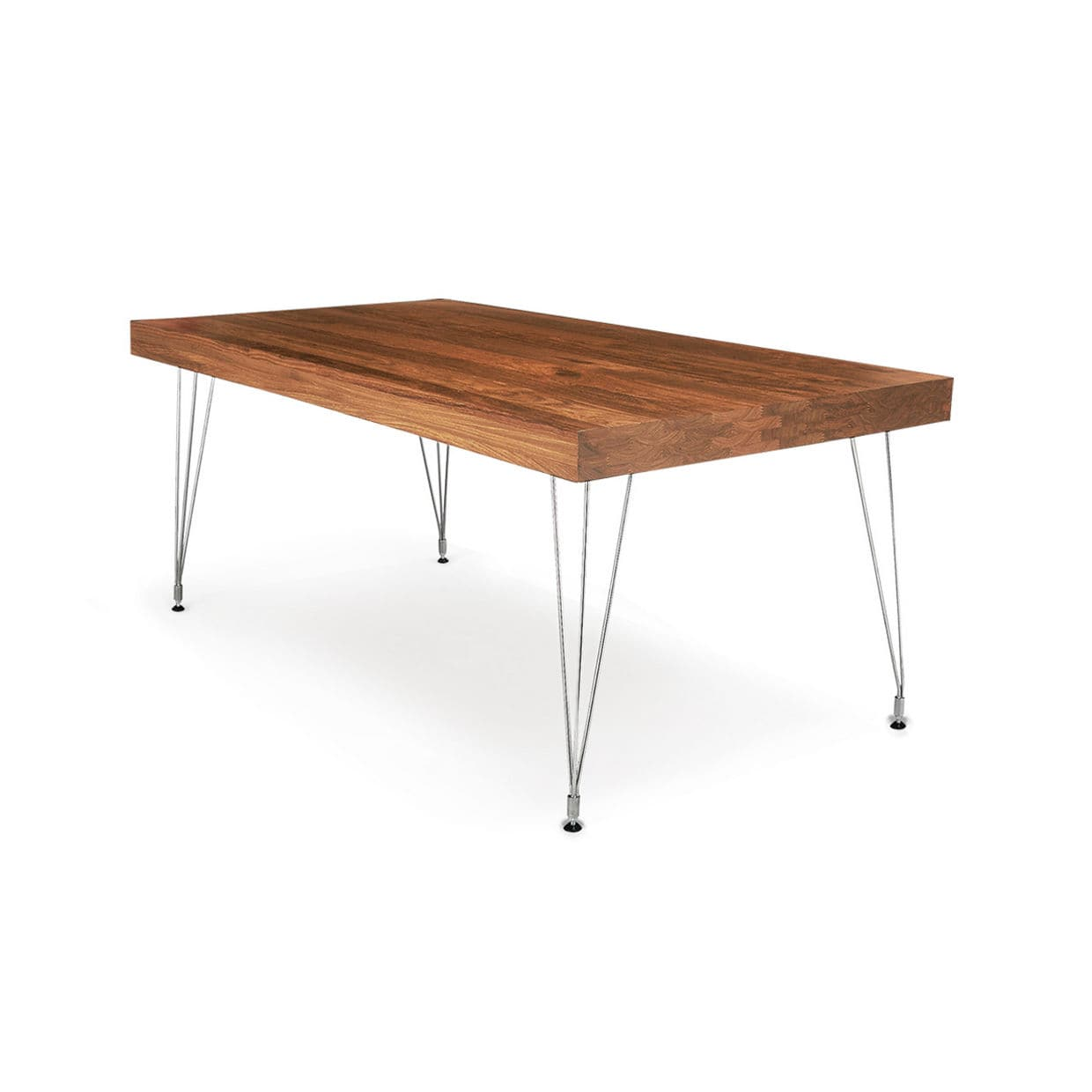 Contemporary Table Wooden Polished Stainless Steel Stainless - 6ft stainless steel table
