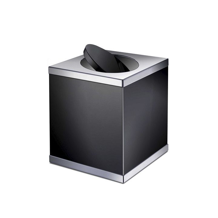 Bathroom Bin Floor Mounted Br Swing Black 897