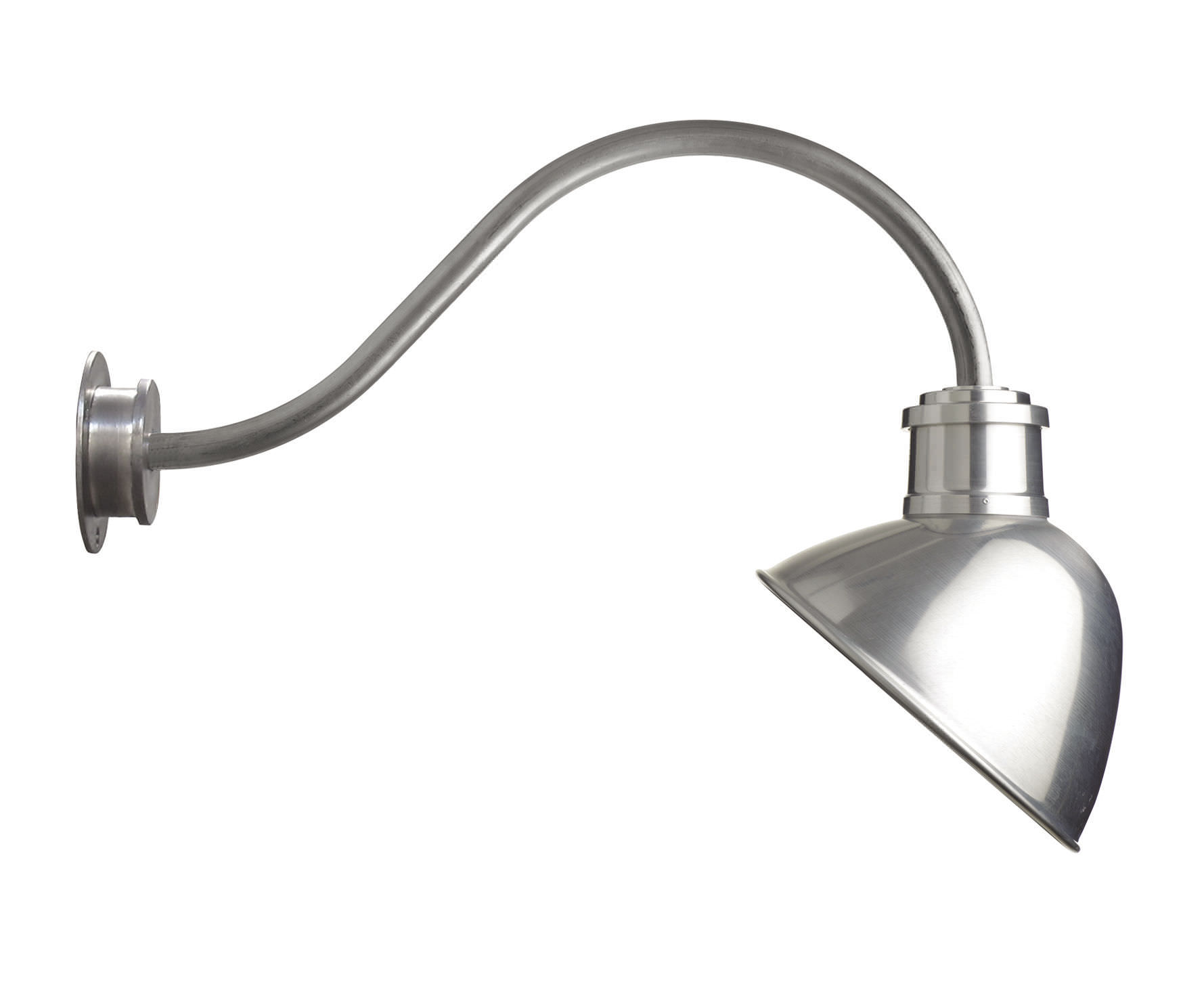Industrial style wall light / outdoor / garden / aluminum - GLOBE by ...