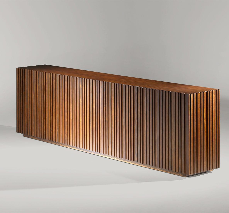 Contemporary Sideboard Wooden Moon Luisa Peixoto Design