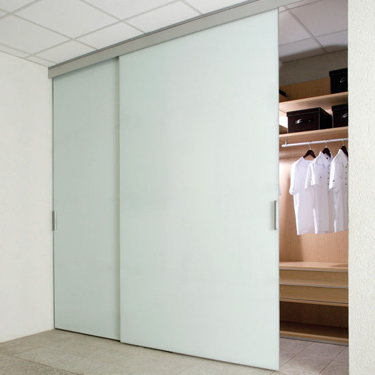 Indoor Door Closet Sliding Glass Duplo Sv Saheco