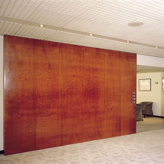 sliding partition / wooden / professional - CLASSIC XL  SF & Sliding partition / wooden / professional - CLASSIC XL : SF - SAHECO