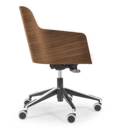 Top Office Armchair Star Base Residential Marlene Riccardo Rivoli Design With Chaise Bureau