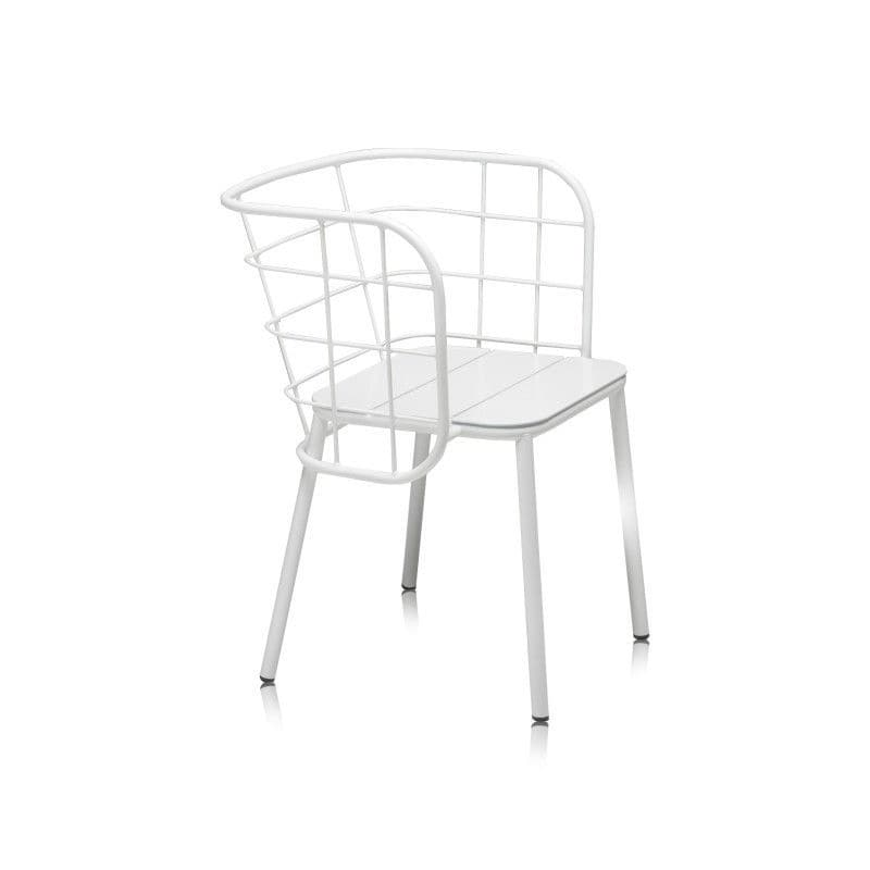 Contemporary Chair / Upholstered / With Armrests / Metal JUJUBE SP By 4P1B  Design Studio CHAIRS ...