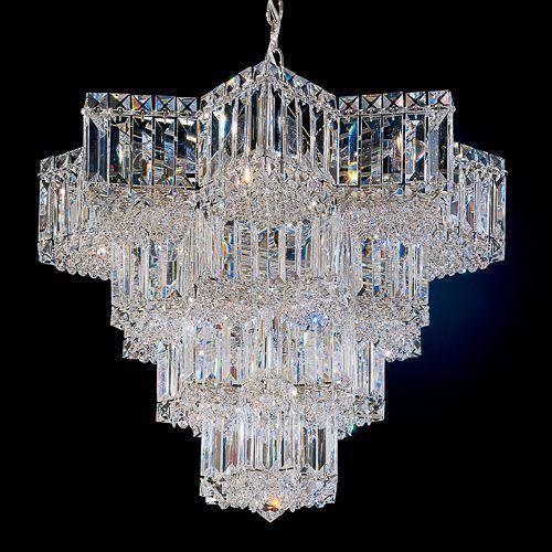 Contemporary Chandelier Swarovski Crystal Incandescent