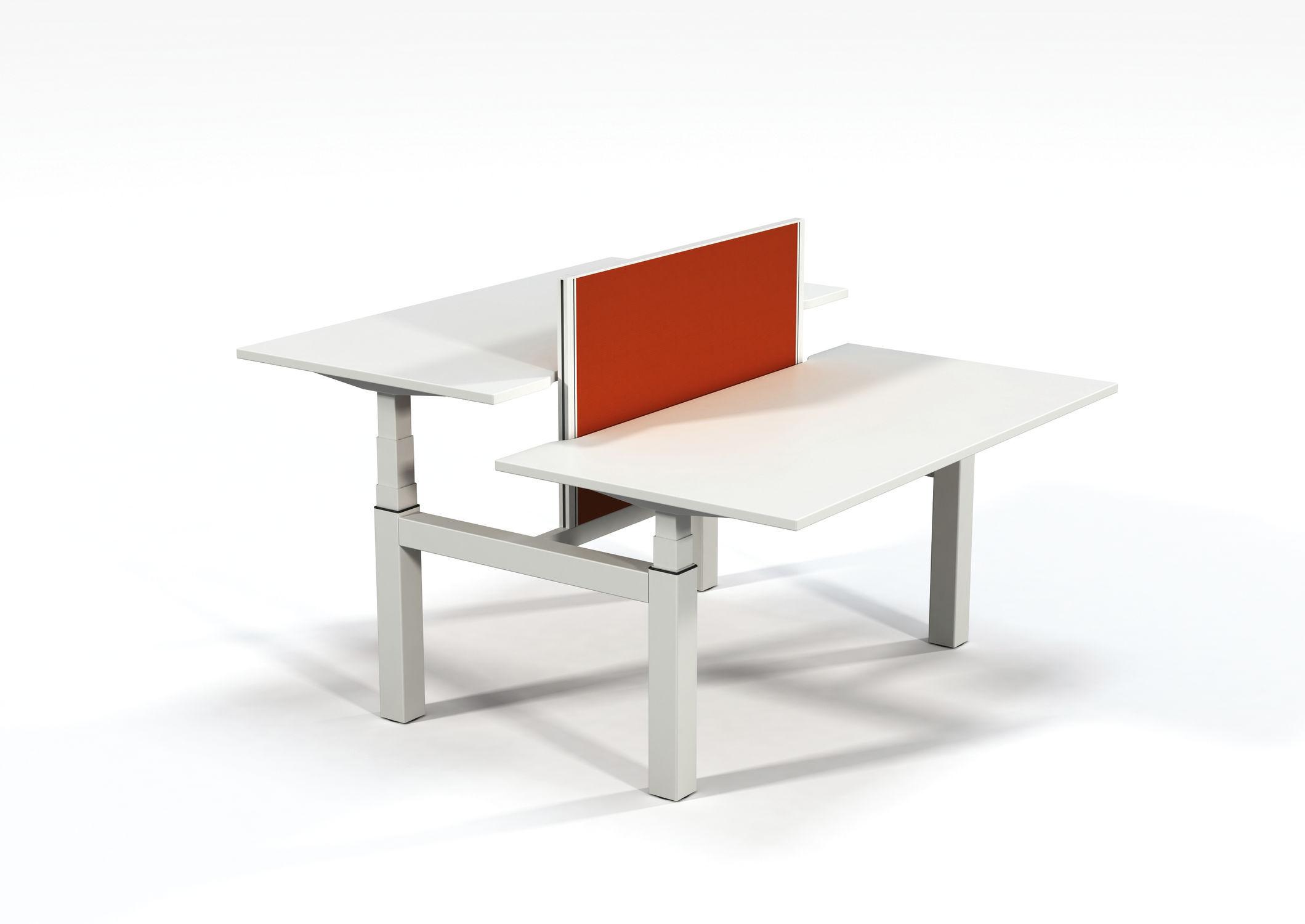 Workstation Desk Mdf Metal Contemporary Work2 Ki Europe