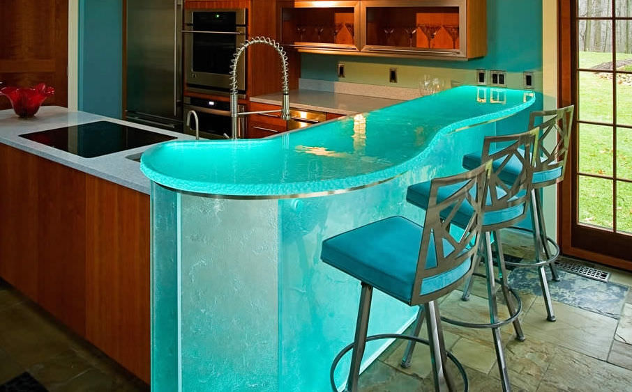 pool house bar. Commercial Bar Cabinet / Contemporary Glass Custom POOL HOUSE BAR ThinkGlass Pool House N