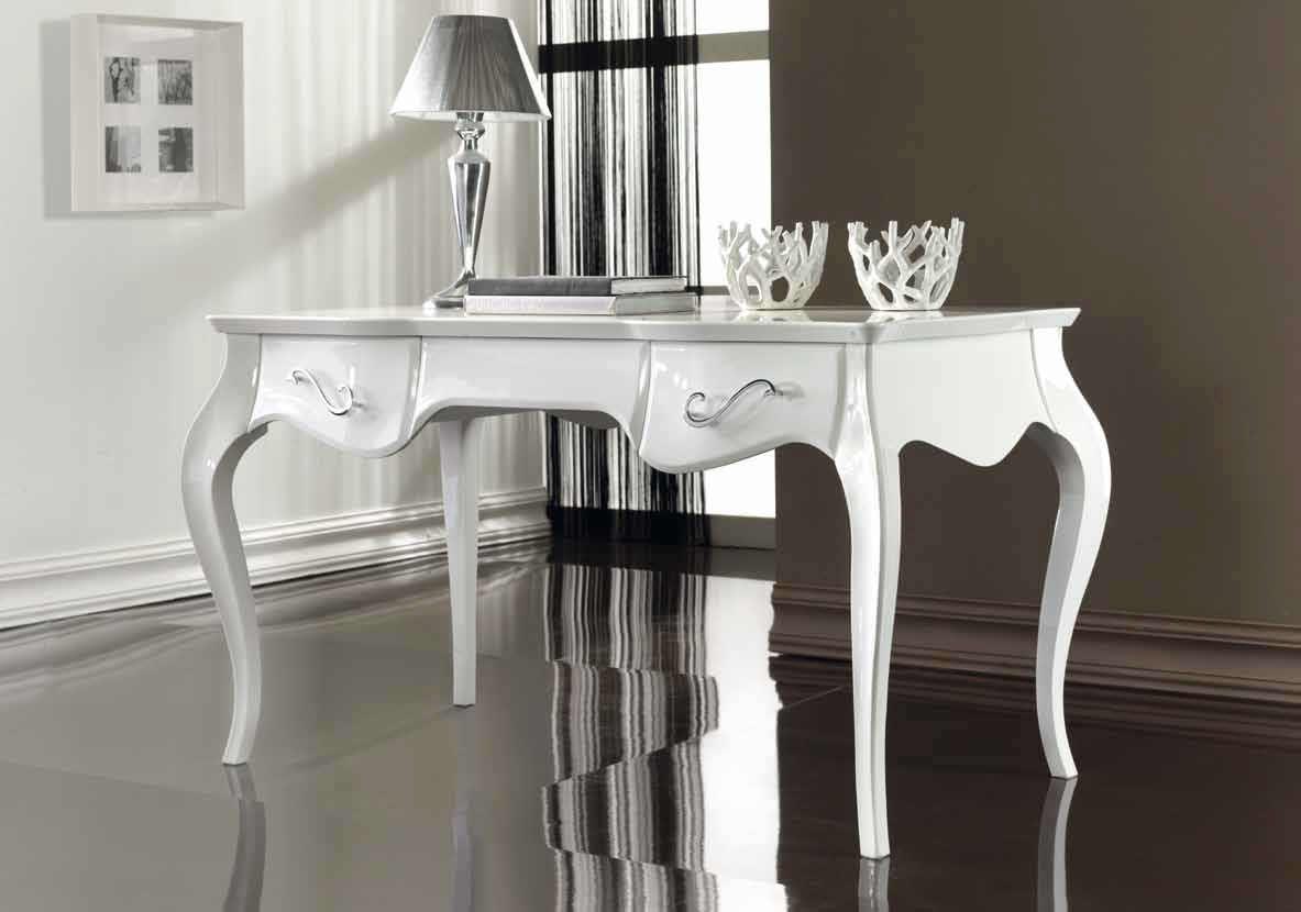 Attractive Bureau Style Baroque 6 Wooden Desk New Baroque