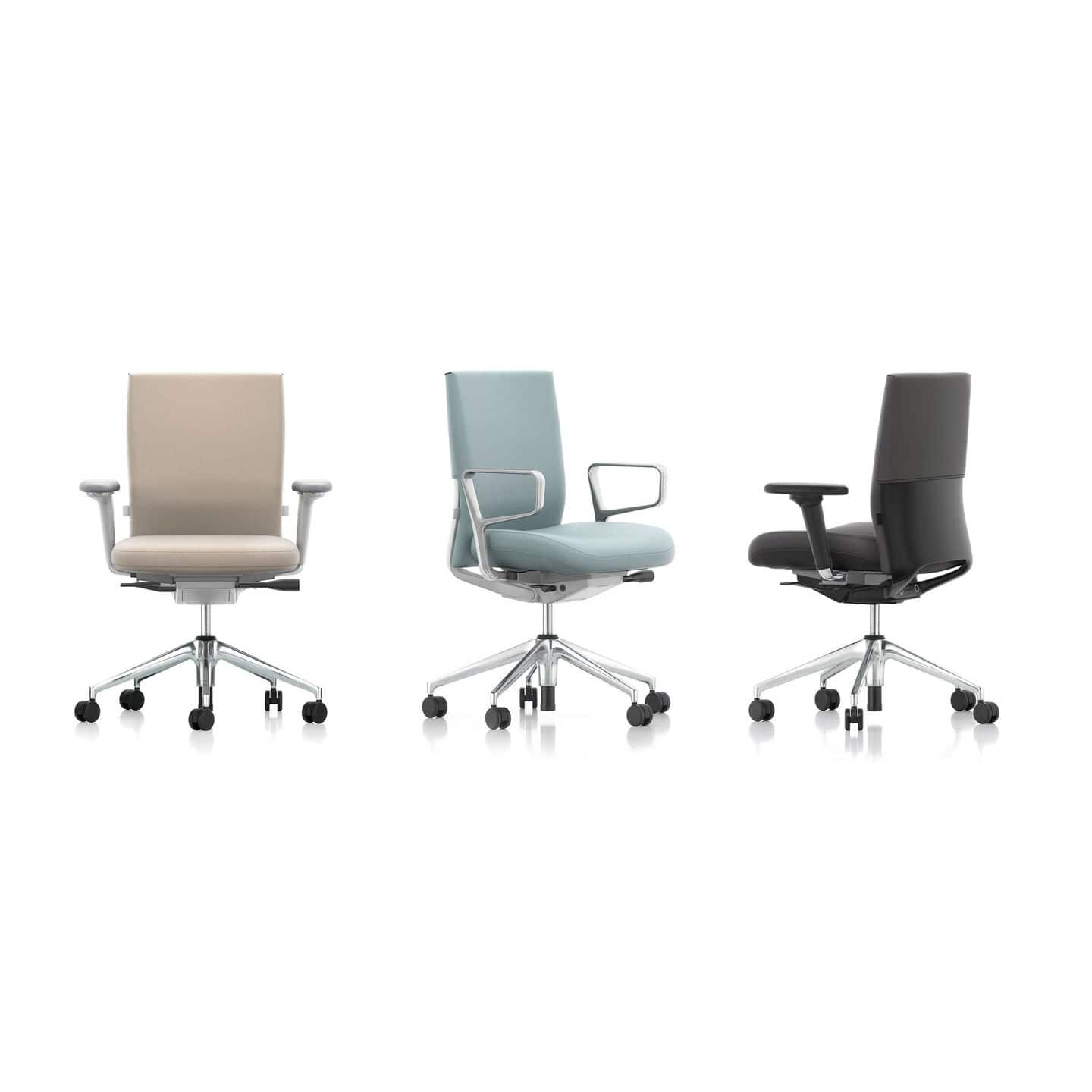 Contemporary Office Chair On Casters With Armrests Star Base Id Soft