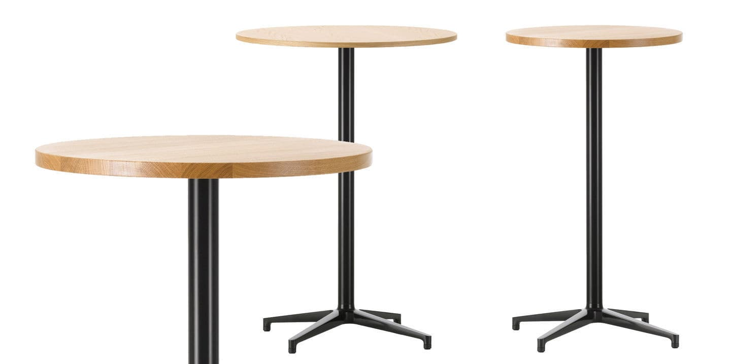 Contemporary High Bar Table / Oak / Laminate / Melamine ...