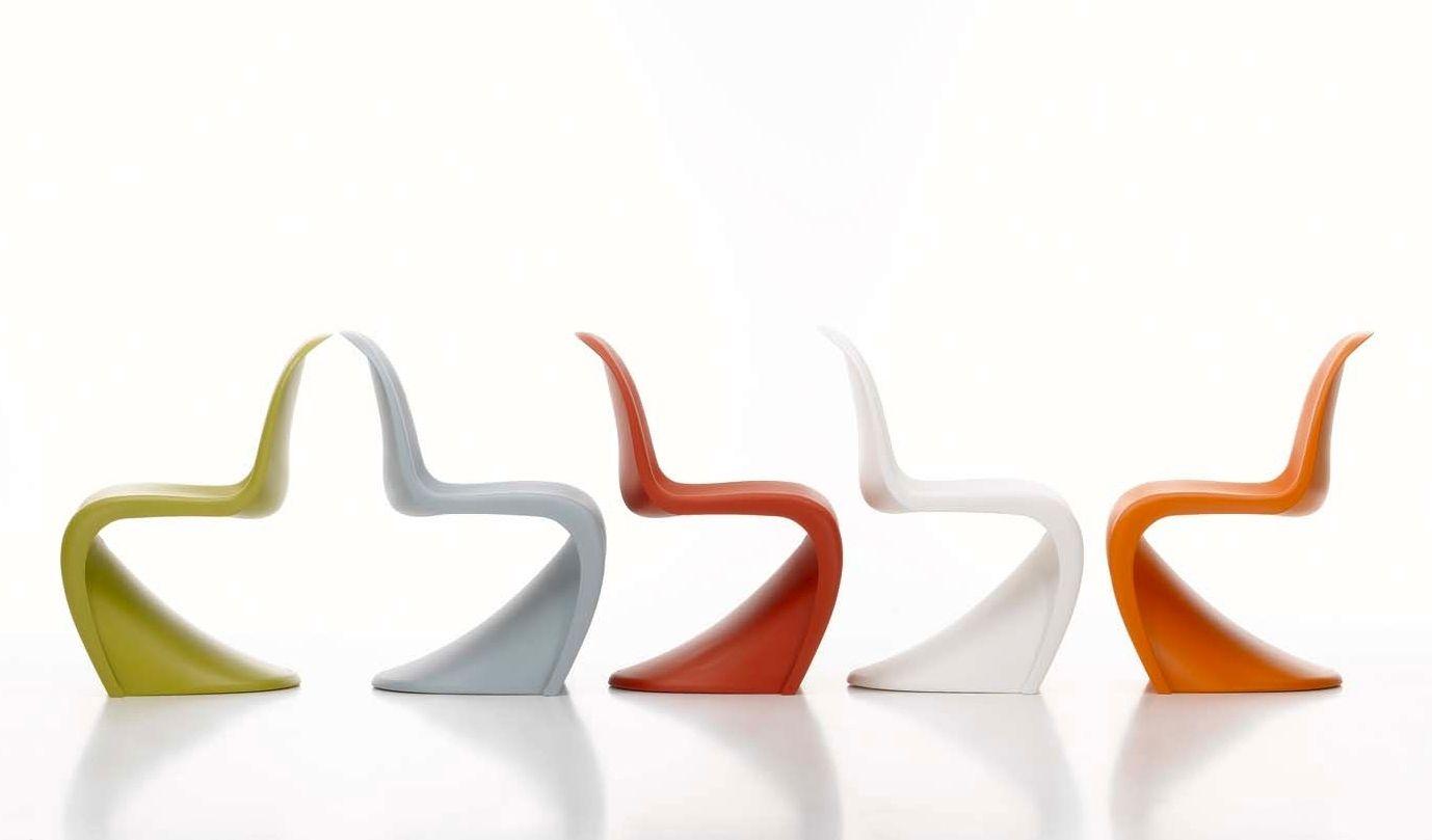 original design chair / polyurethane / cantilever /verner