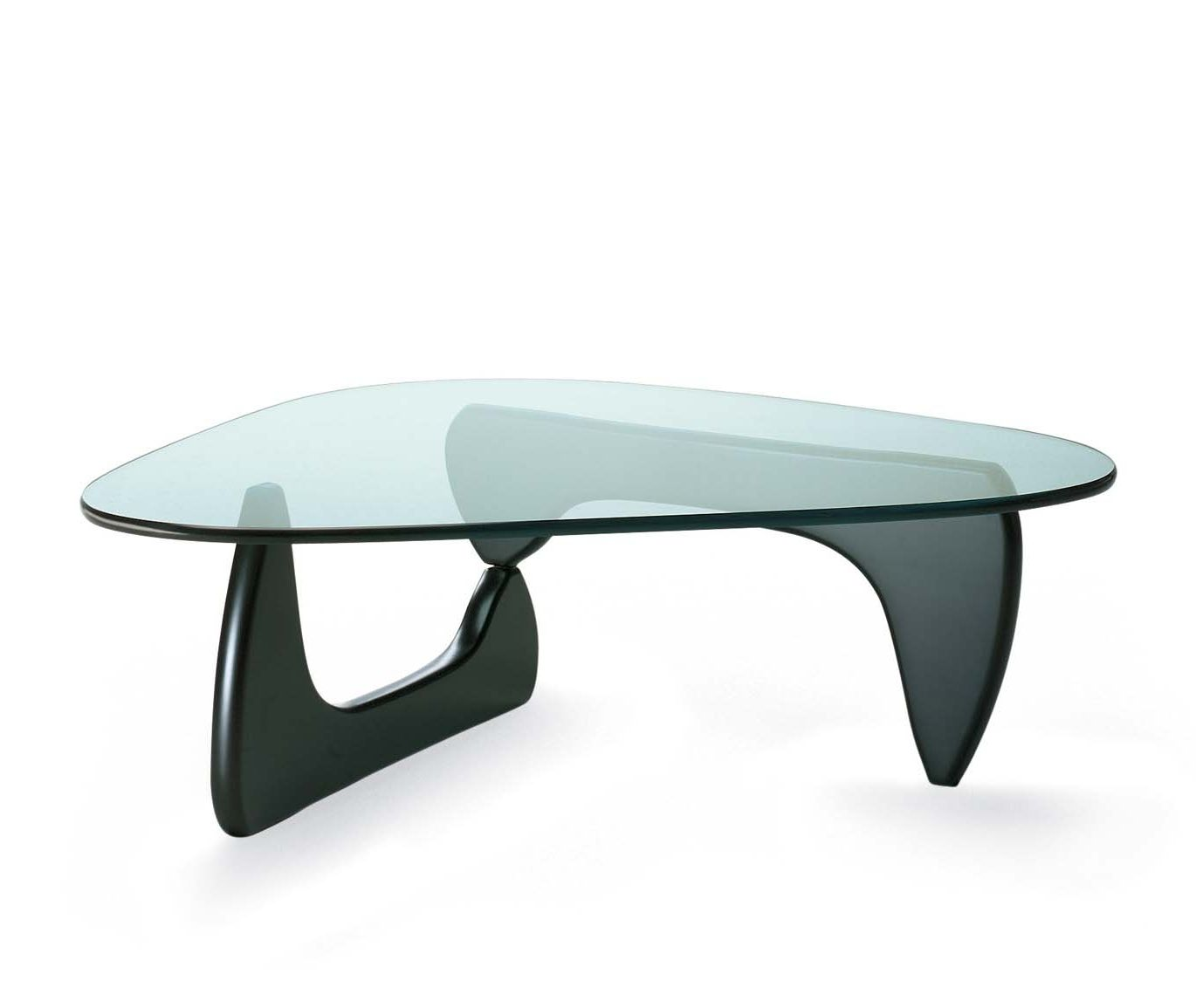 Biomorphic Coffee Table Coffee Table Contemporary Wooden Glass Vitra