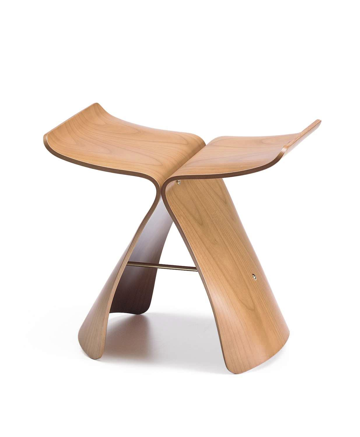 Butterfly chair sori yanagi -  Contemporary Stool Plywood By Sori Yanagi Butterfly Vitra