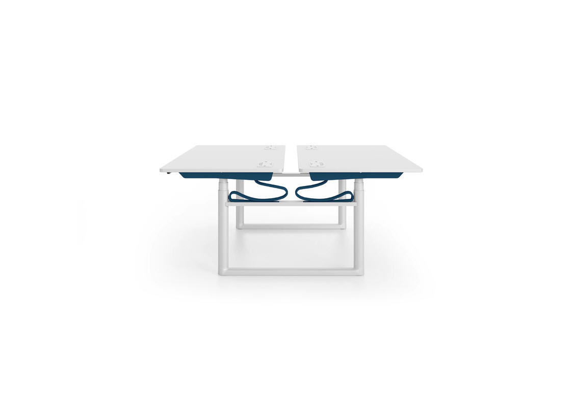 Workstation desk / metal / contemporary / commercial - TYDE ... - ... Workstation desk / metal / contemporary / commercial TYDE CLUSTERS vitra  ...