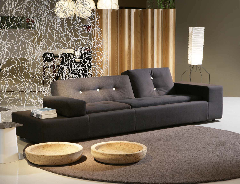 Compact Sofa / Contemporary / Fabric / By Hella Jongerius   POLDER