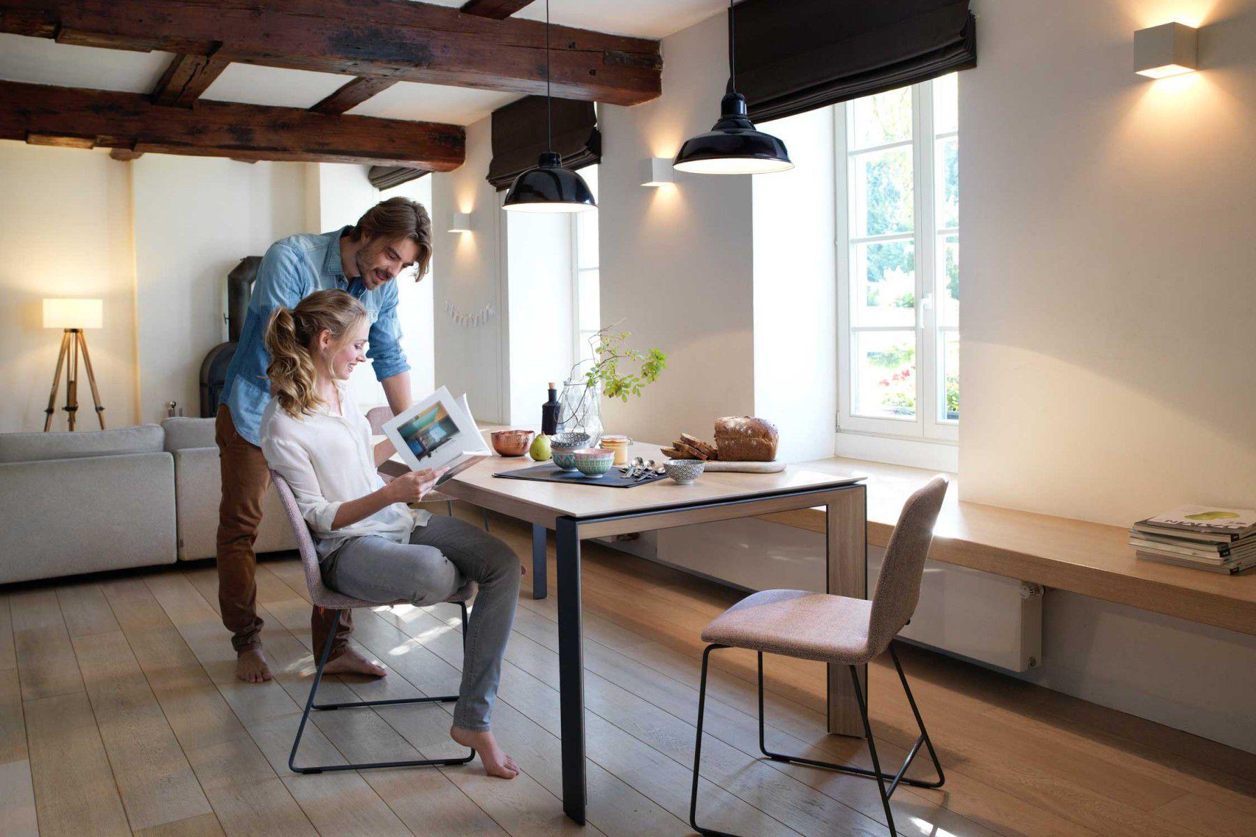 ... Contemporary Dining Table / Fenix NTM® / Oak / Walnut MASON PB3  Adventures In Furniture ...