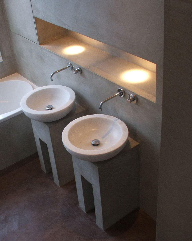 Super Decorative coating / indoor / cement-based / waxed concrete look  XA65