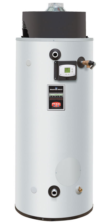 Bradford White Water Heaters >> Gas Hot Water Tank Free Standing Commercial Commander Bradford White Water Heaters