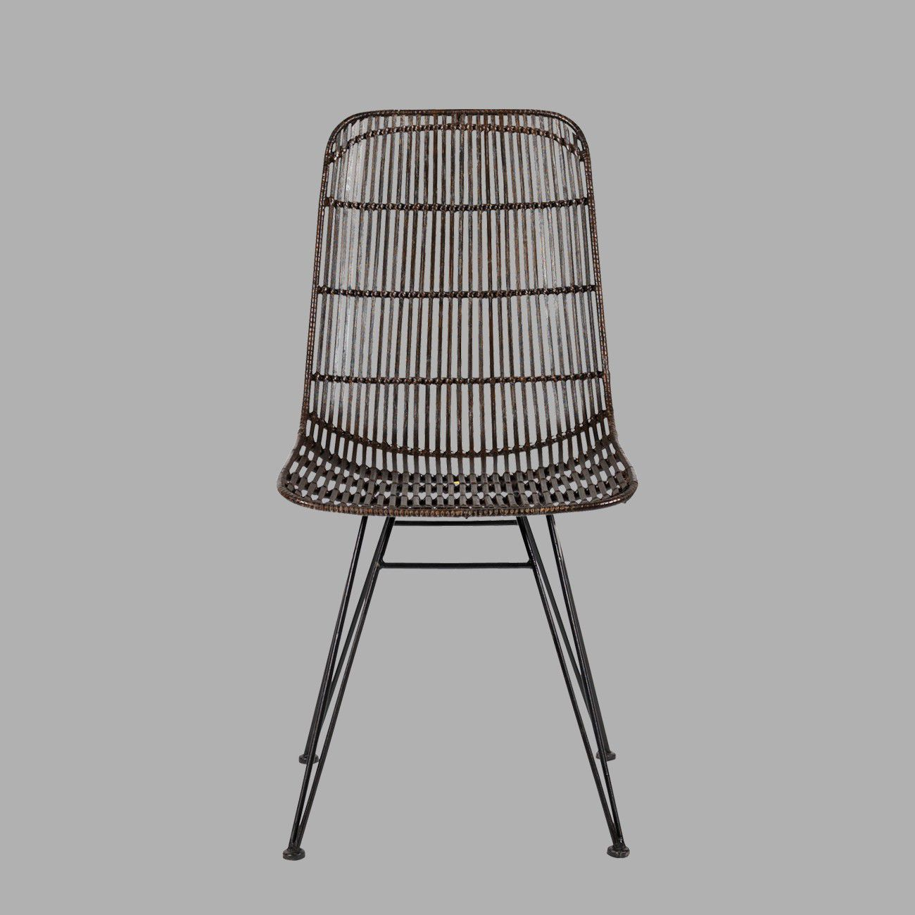 contemporary chair  rattan  metal siam pm blanc d'ivoire . contemporary chair  rattan  metal  siam pm  blanc d'ivoire