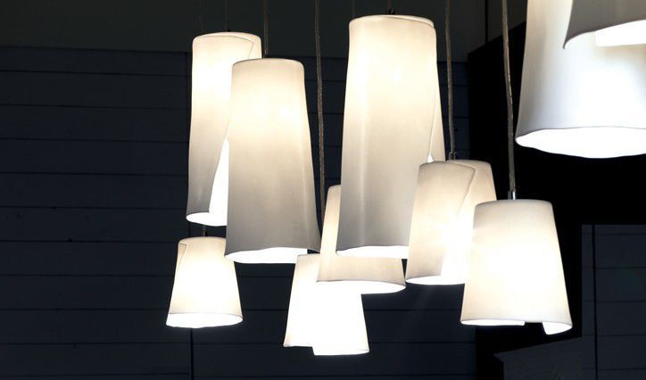 porcelain lighting ceiling pendant lamp original design porcelain pendant paper tree blanc divoire