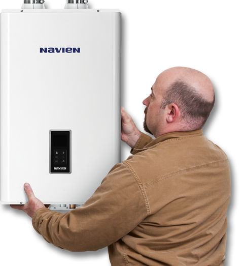 Gas boiler / wall-mounted / residential / with water heater - NCB ...