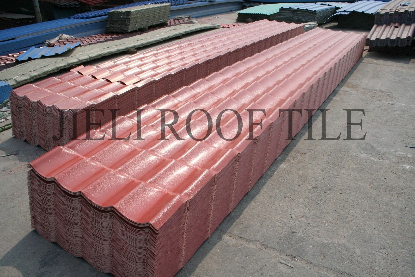 PVC Roofing / Corrugated   RESIDENTIAL ROOFING EUROPE DESIGN