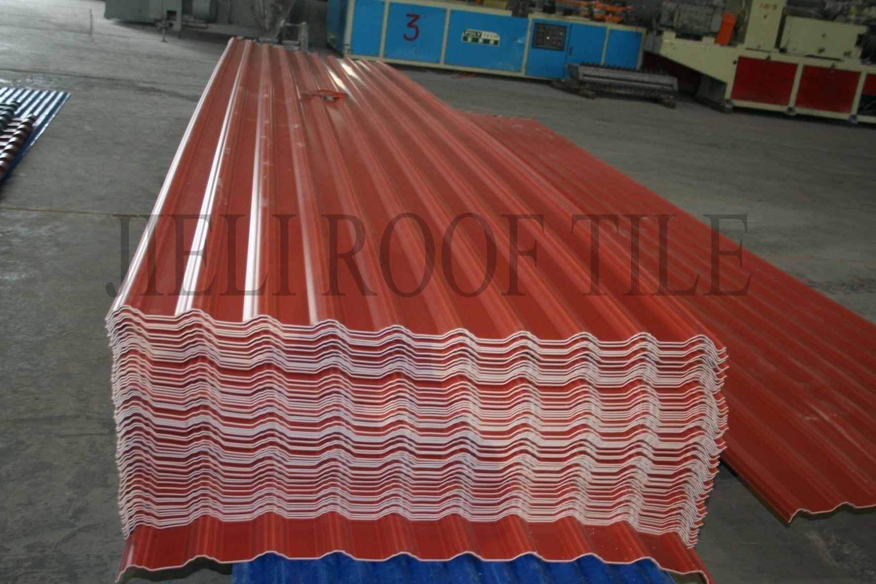 Composite Roofing / Corrugated   REINFORCED FIBERGLASS ROOF TILE 1130 WIDTH