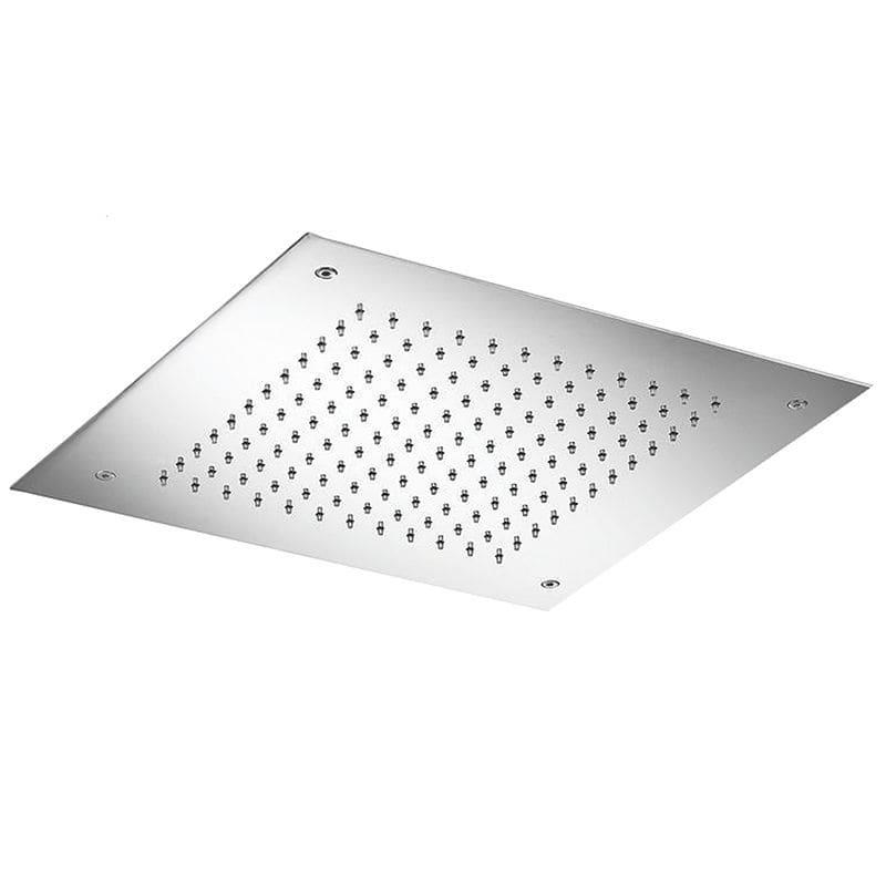 recessed ceiling shower head square rain vela