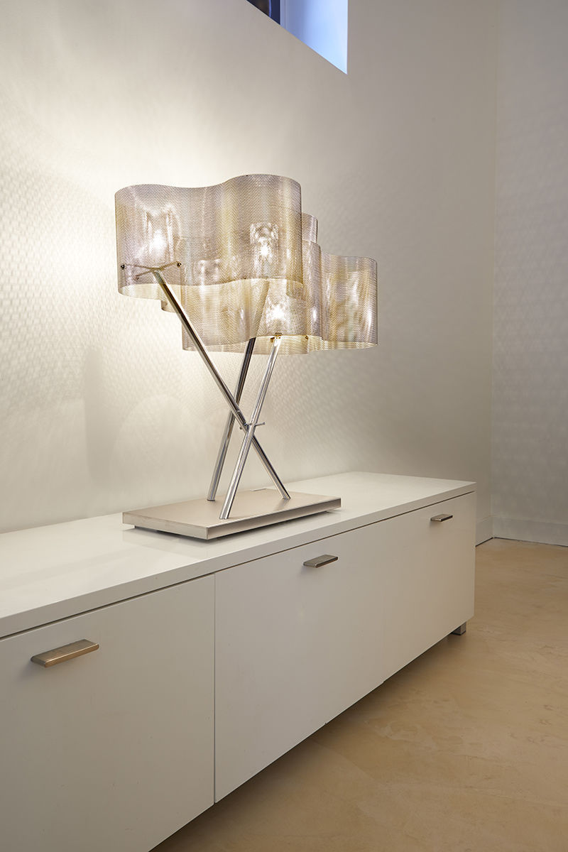 ... Table Lamp / Contemporary / Polished Stainless Steel / LED ...
