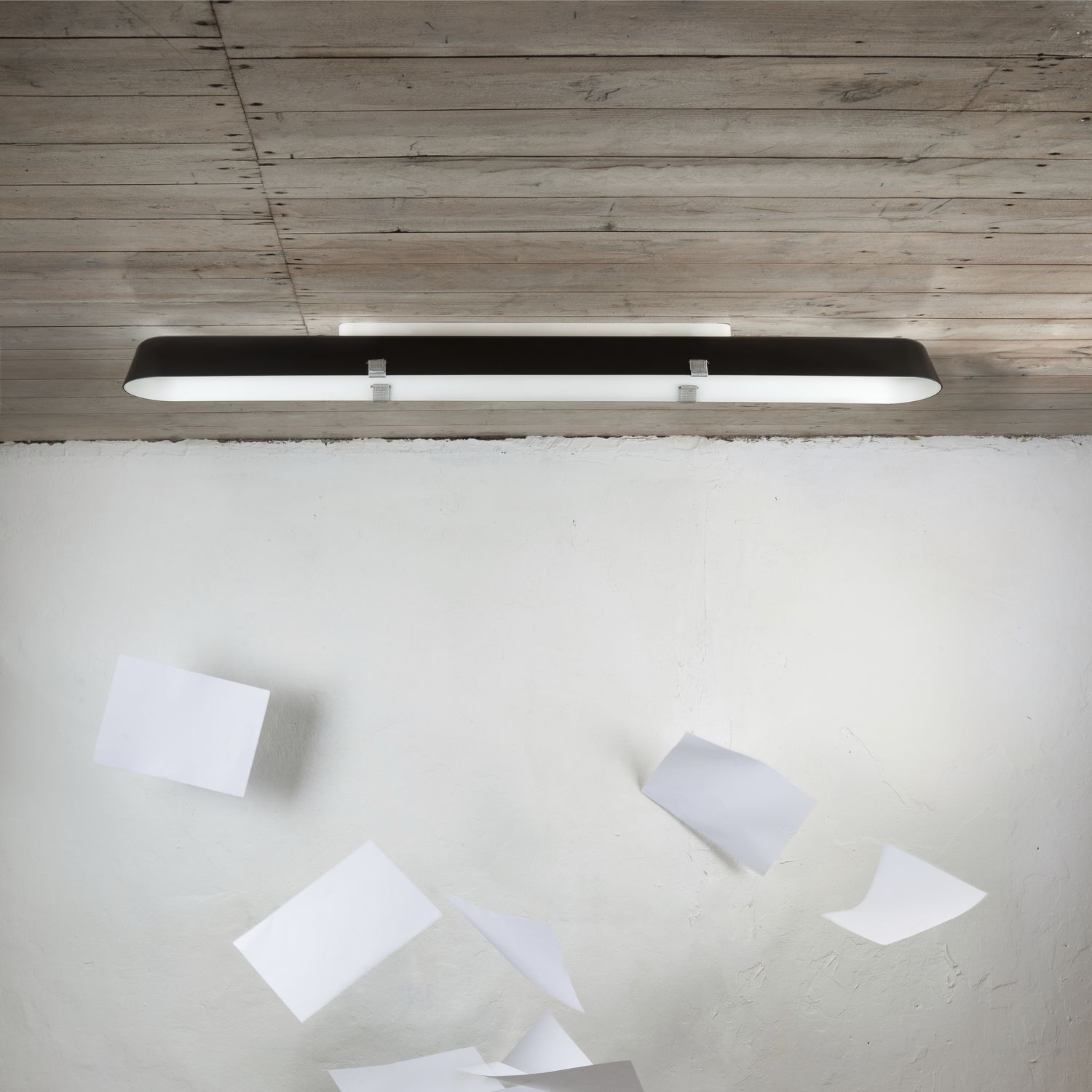 Borderline long by a a cooren contemporary ceiling light rectangular acrylic fluorescent by vertigo bird d o o archiexpo