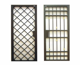 Removable security grill / for doors. SOMECA srl
