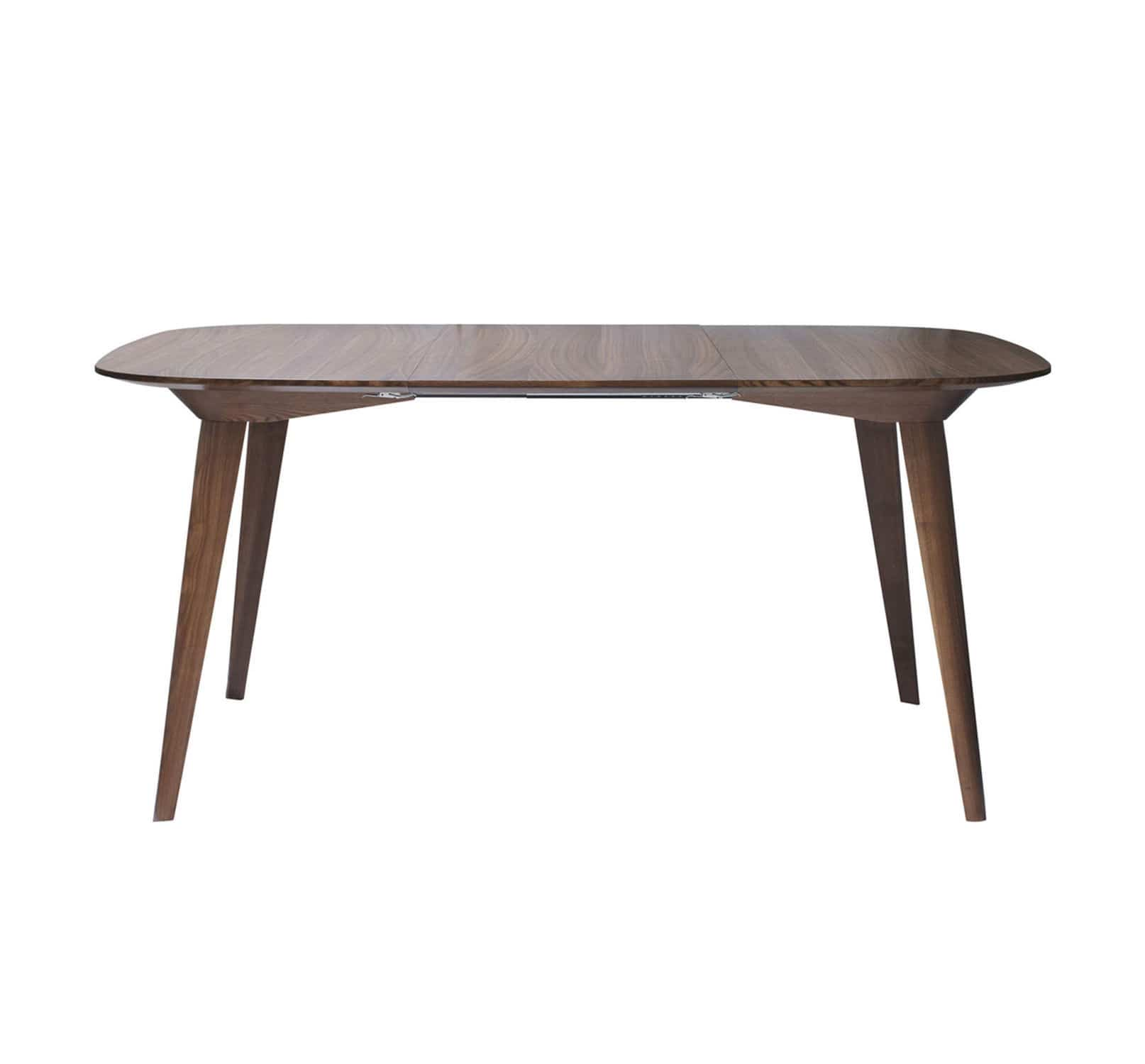 Contemporary table wooden rectangular extending BRIDGE by