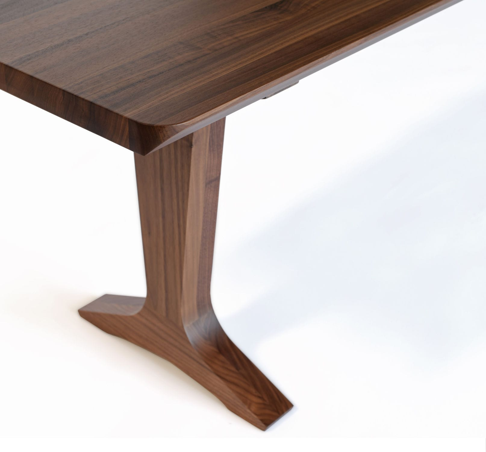 Contemporary dining table wooden rectangular contract
