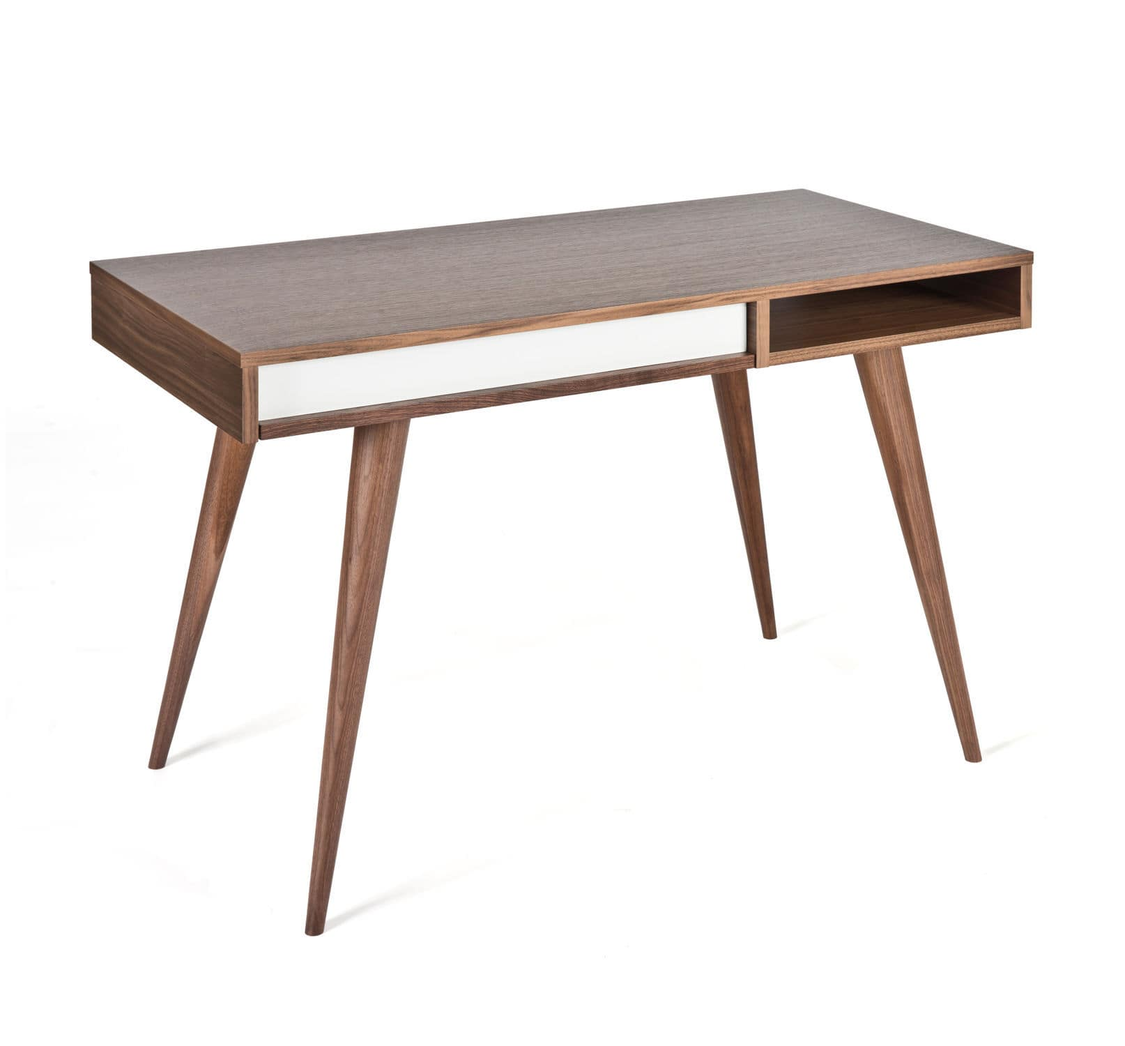 Wooden Desk Contemporary With Storage