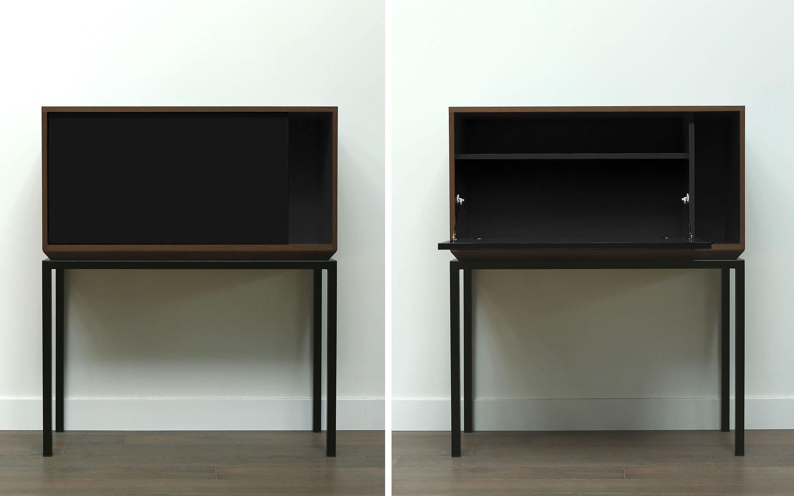 Contemporary Secretary Desk Wooden My City By Laurent Minguet  # Muebles Secreter