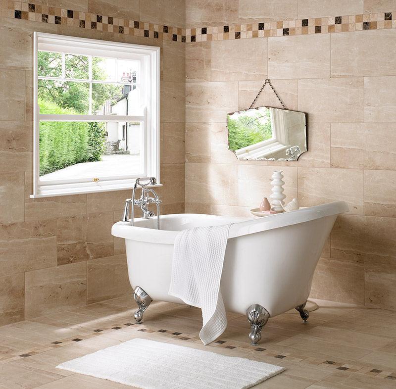 British Colonial Traditional Bathroom